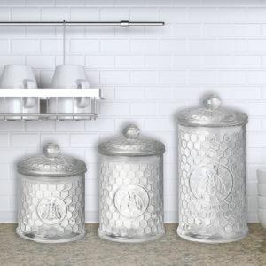 Honeycomb Jars