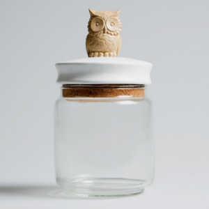 Owl Trinket Jar