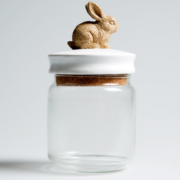 Rabbit Trinket Jar