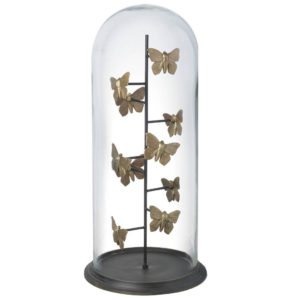 Gilded Butterflies in Dome