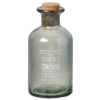 Green Glass Chuckle Tincture Bottle