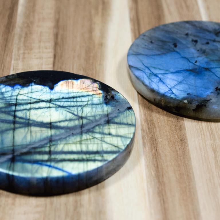 Labradorite Coasters