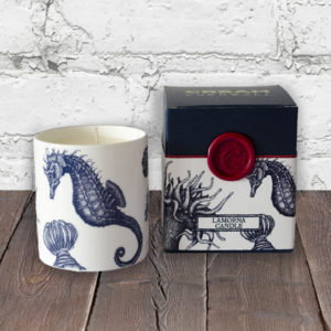 Scented Nautical Candle - Seahorse