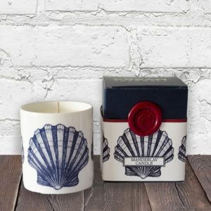 Scented Nautical Candle - Shell
