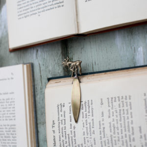 Brass Stag Bookmark