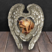 Silver Angel Wings Frame
