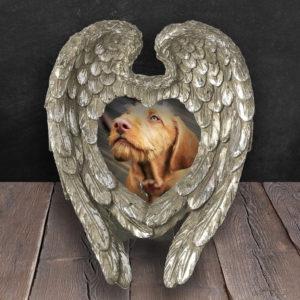 Silver Angel Wings Frame