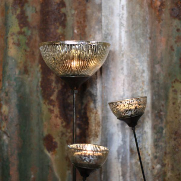 Jasmine Glass Garden Lanterns