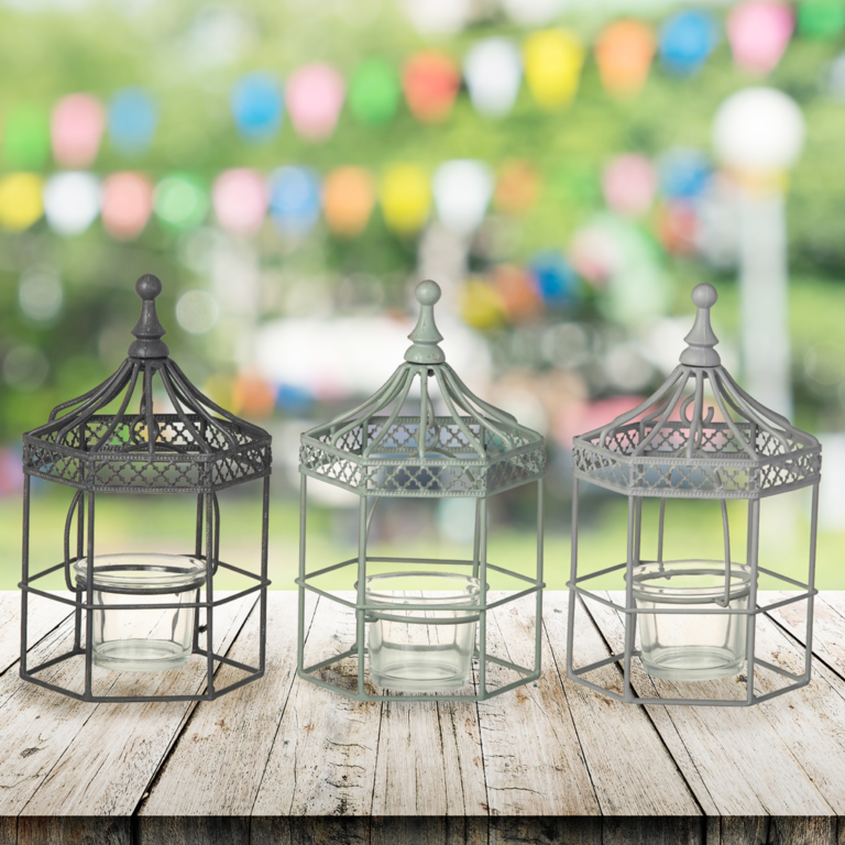 Bandstand Candle Holders