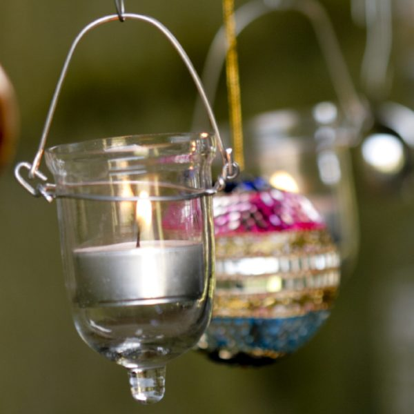 Fire Fly Hanging Tea Light Holders