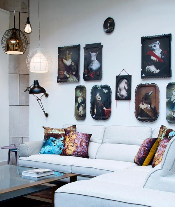 Ibride Designer Wall Art The Lovebirds Curiosity Home