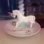 Unicorn Trinket Dish and Jewellery Holder