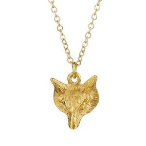 Mirabelle Gold Fox pendant