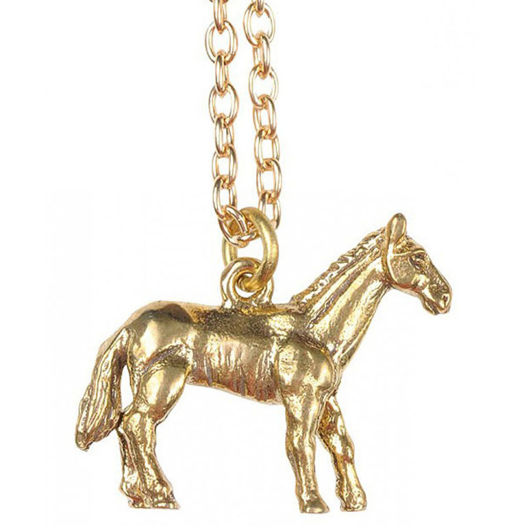 Mirabelle horse necklace