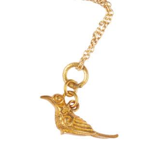 paradise bird charm