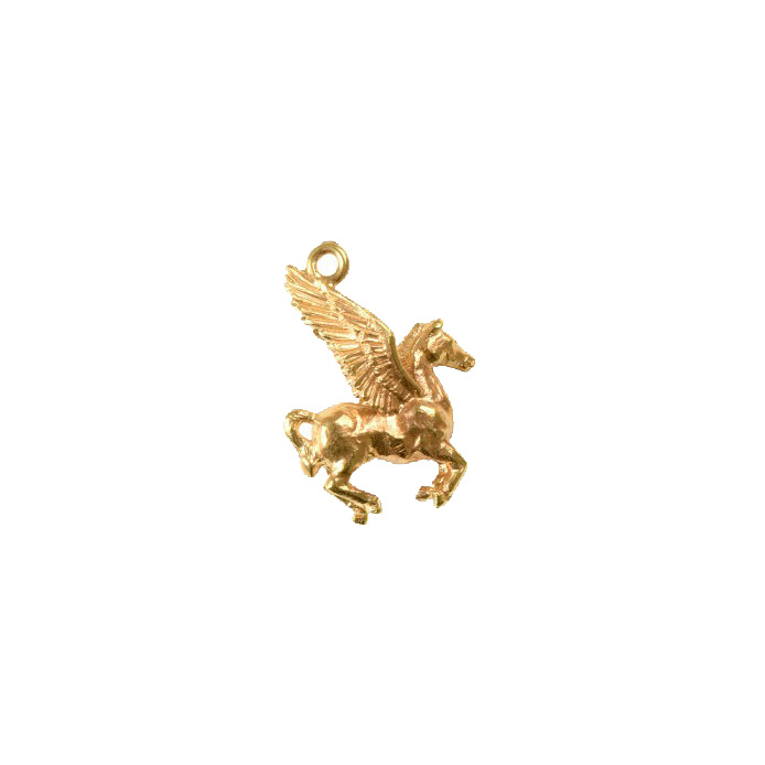 Mirabelle Gold Pegasus pendant