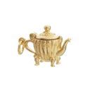 mirabelle gold Teapot pendant