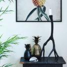 Antler candlestick - large