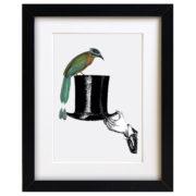 Quirky Bird Art Print