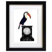 Quirky Toucan Art Print