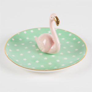 Flamingo Jewellery Dish